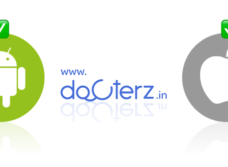 Docterz on iOS & Android!