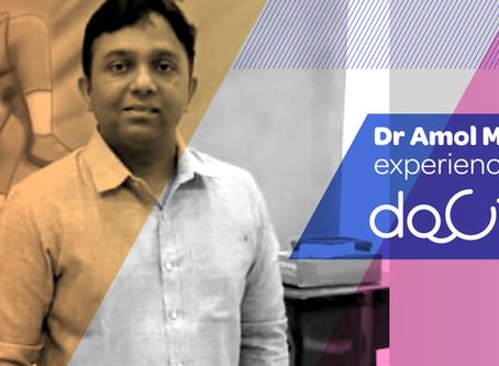 """Docterz has child's entire medical portfolio accessible at fingertips."", Dr. Amol Murkute, Nashik"