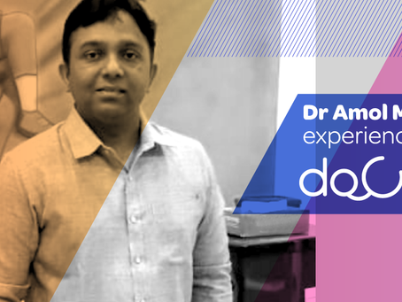 """Docterz has child's entire medical portfolio accessible at fingertips."", Dr. Amol Murkute, Nashik"