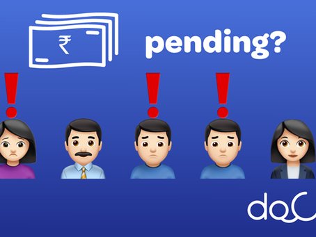 Docterz tracks and sends alerts to patients with pending OPD fees.