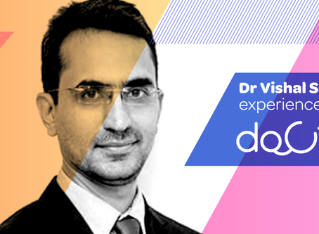 """""""Docterz is faster than pen & paper, convenient, user-friendly, intuitive."""", Dr. Vishal Sachade."""