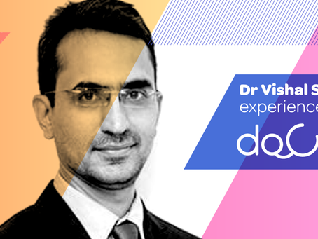 """Docterz is faster than pen & paper, convenient, user-friendly, intuitive."", Dr. Vishal Sachade."