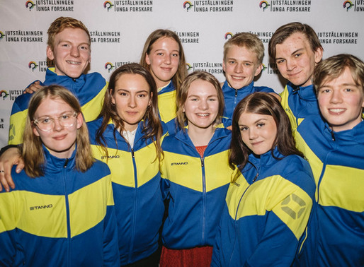 Jonatan will now represent Sweden as a member of this year's national team of scientists