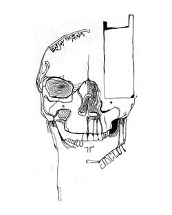 skull face?