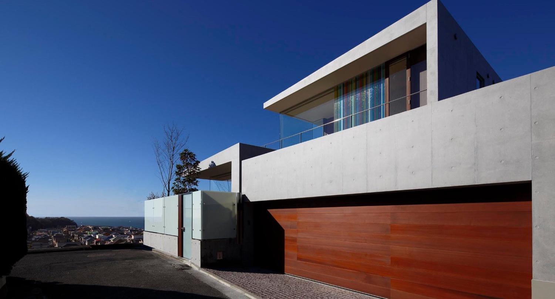 外観北東/CASA BARCA/豪邸 高級別荘建築