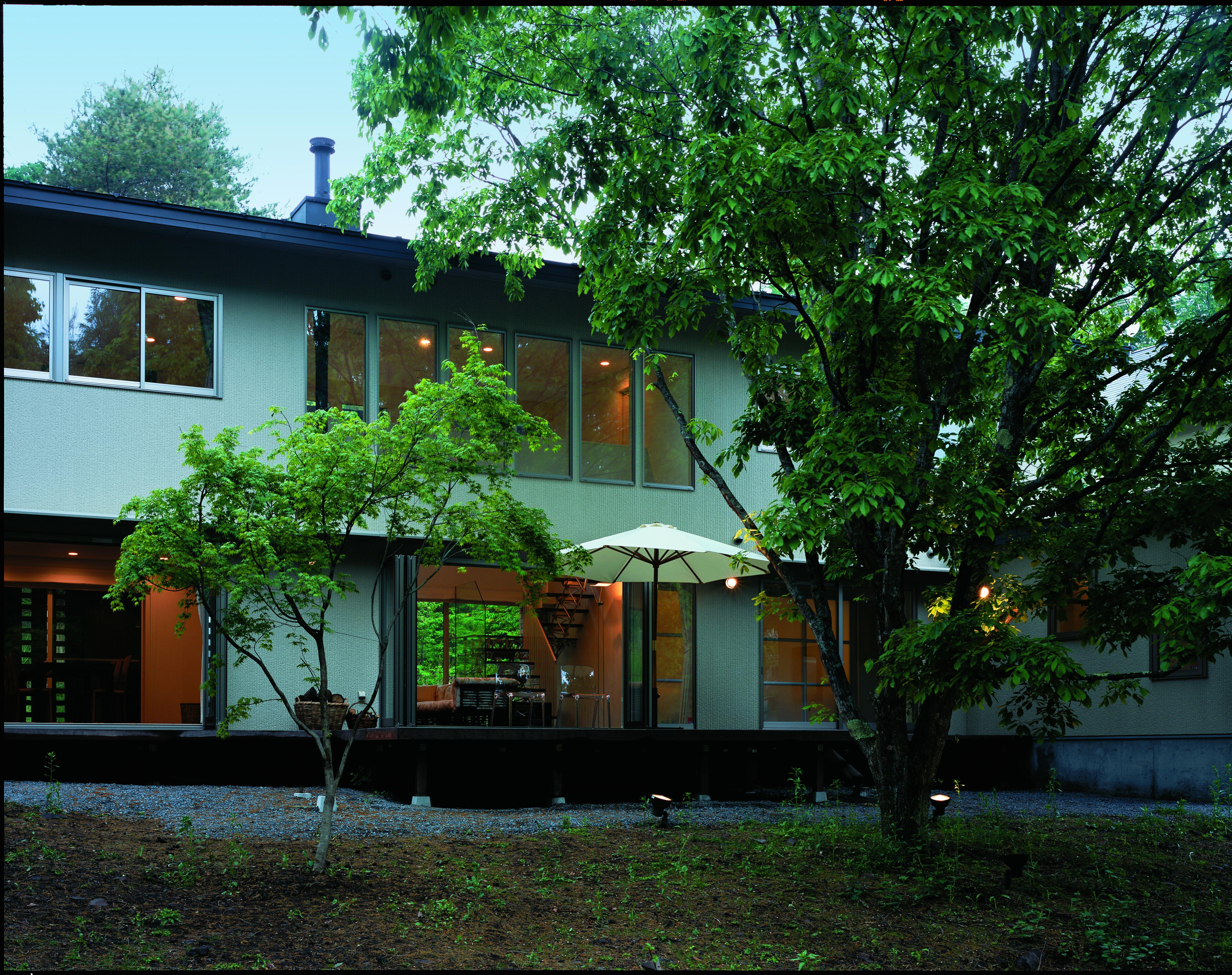 別荘建築ならMアーキテクツデザイン | 軽井沢の別荘建築 週末住宅