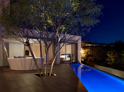 海の家 |高級住宅地・披露山の木造別荘建築