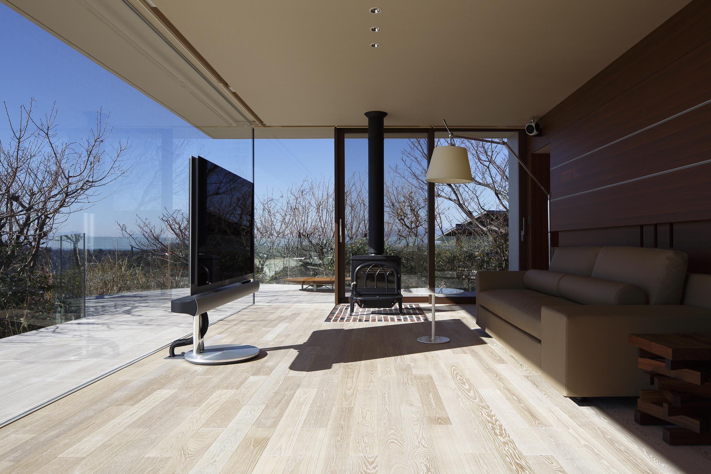 リビング/CASA BARCA/豪邸 高級別荘建築