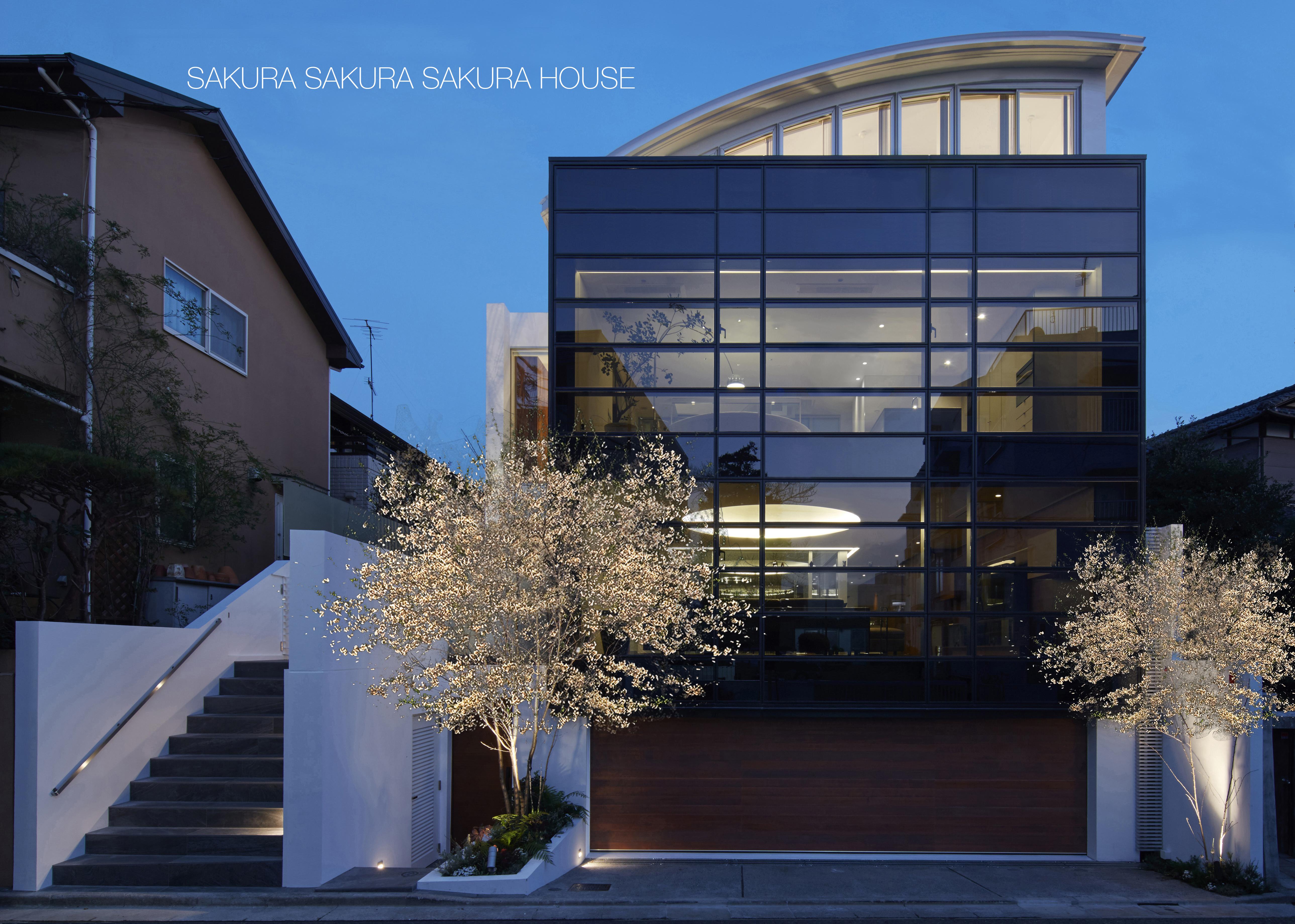 SAKURA SAKURA SAKURA HOUSE | 3世帯高級邸宅