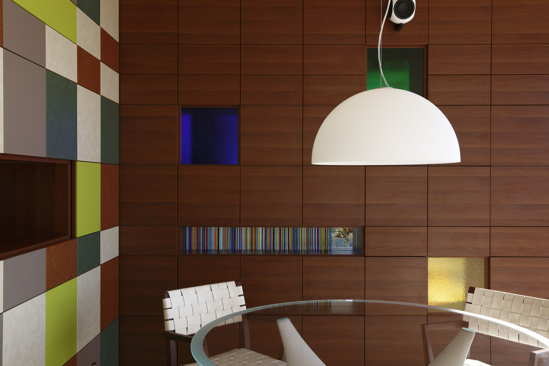 ポップアート調の収納/CASA BARCA/豪邸 高級別荘建築