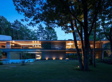 Modern Living『美景の別荘』及びJapan Brand Collection 神奈川版に掲載されました