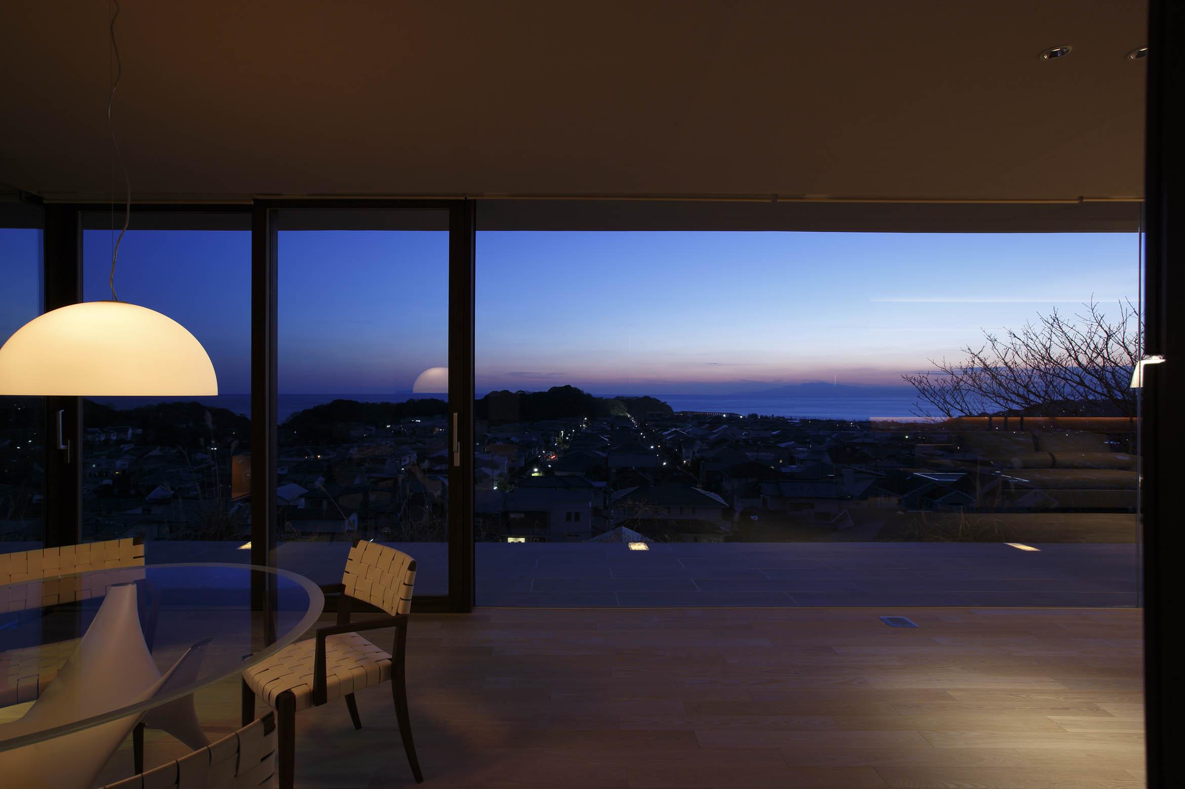 夜景2/CASA BARCA/豪邸 高級別荘建築