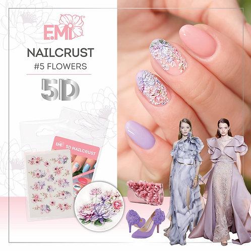 5D Nailcrust Blumen & Muster