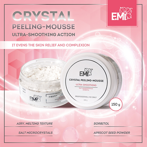 Crystal Peeling Mousse 150g
