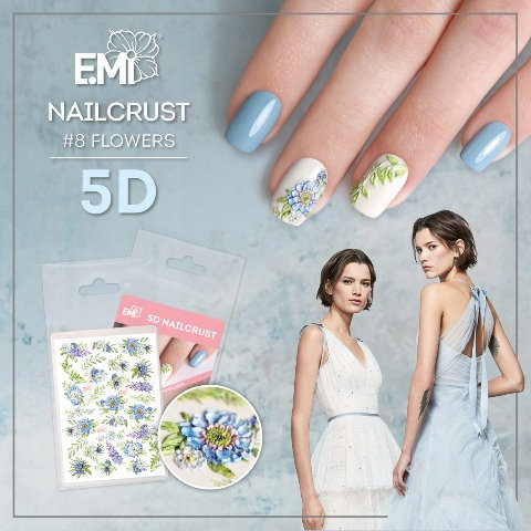 Nailcrust 5D Flowers