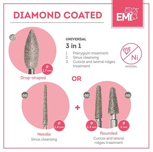 Diamond Coated Aufsätze