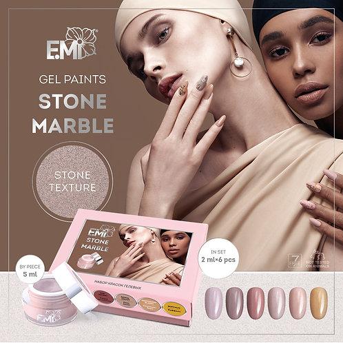 Gel Farben Stone Marble 5ml