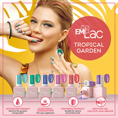 E.MiLac Tropical Garden 9ml