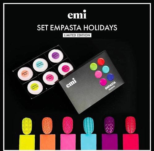 Empasta Set Holidays 6 Farben Spezialpreis