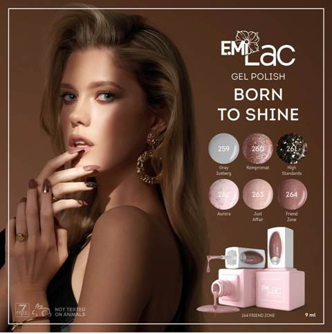 E.Mi Lac Born to Shine 9 ml