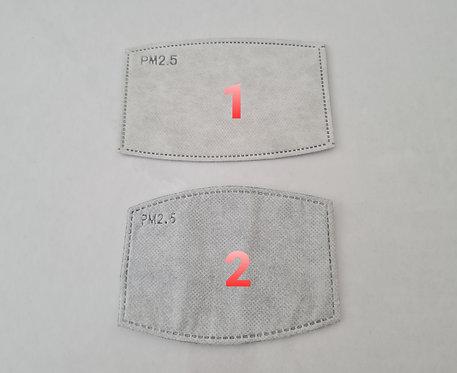Respirator mask 1 Filter