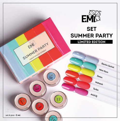Gel Set Summer Party Limited Edition