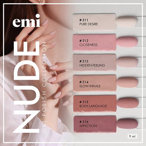 E.Mi Lac Nude Collection 9 ml