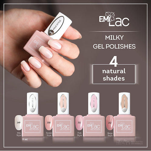 E.MiLac Milky Set Aktion 20%