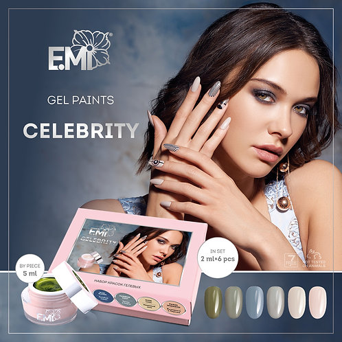 Gel Farben Celebrity 5ml