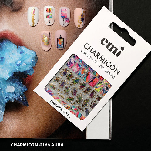 Charmicon 3D Silicone Stickers