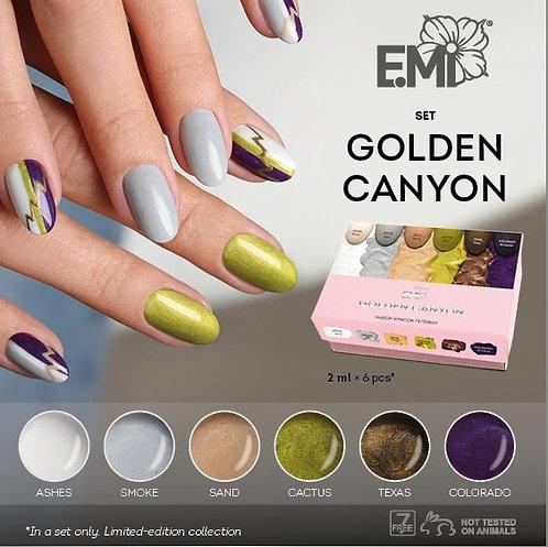 E.Mi Gel Set Golden Canyon