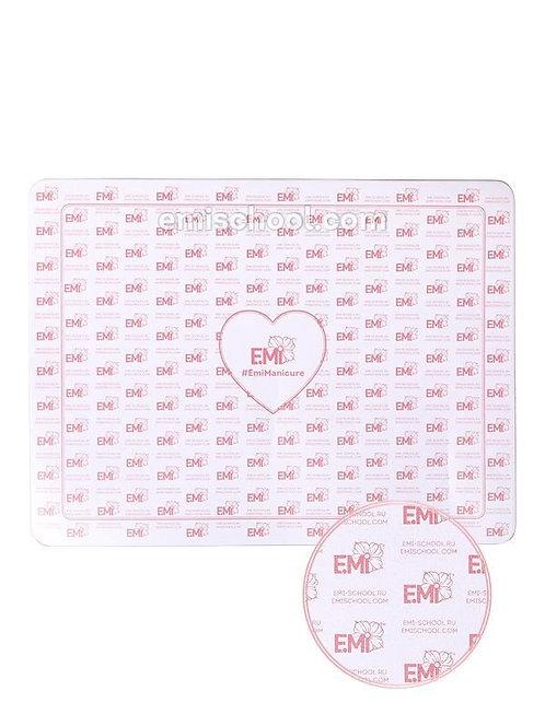 Arbeitsmatte E.Mi Logo 30x40cm