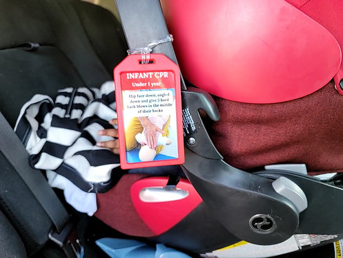 Add On - Infant/Child CPR Pocket Reference Card