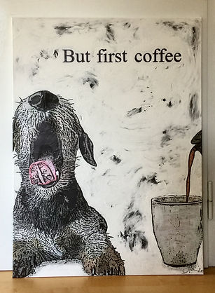But first coffee 1,00 x 0,70