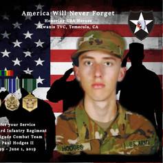 Steven Paul Hodges II, PFC US Army