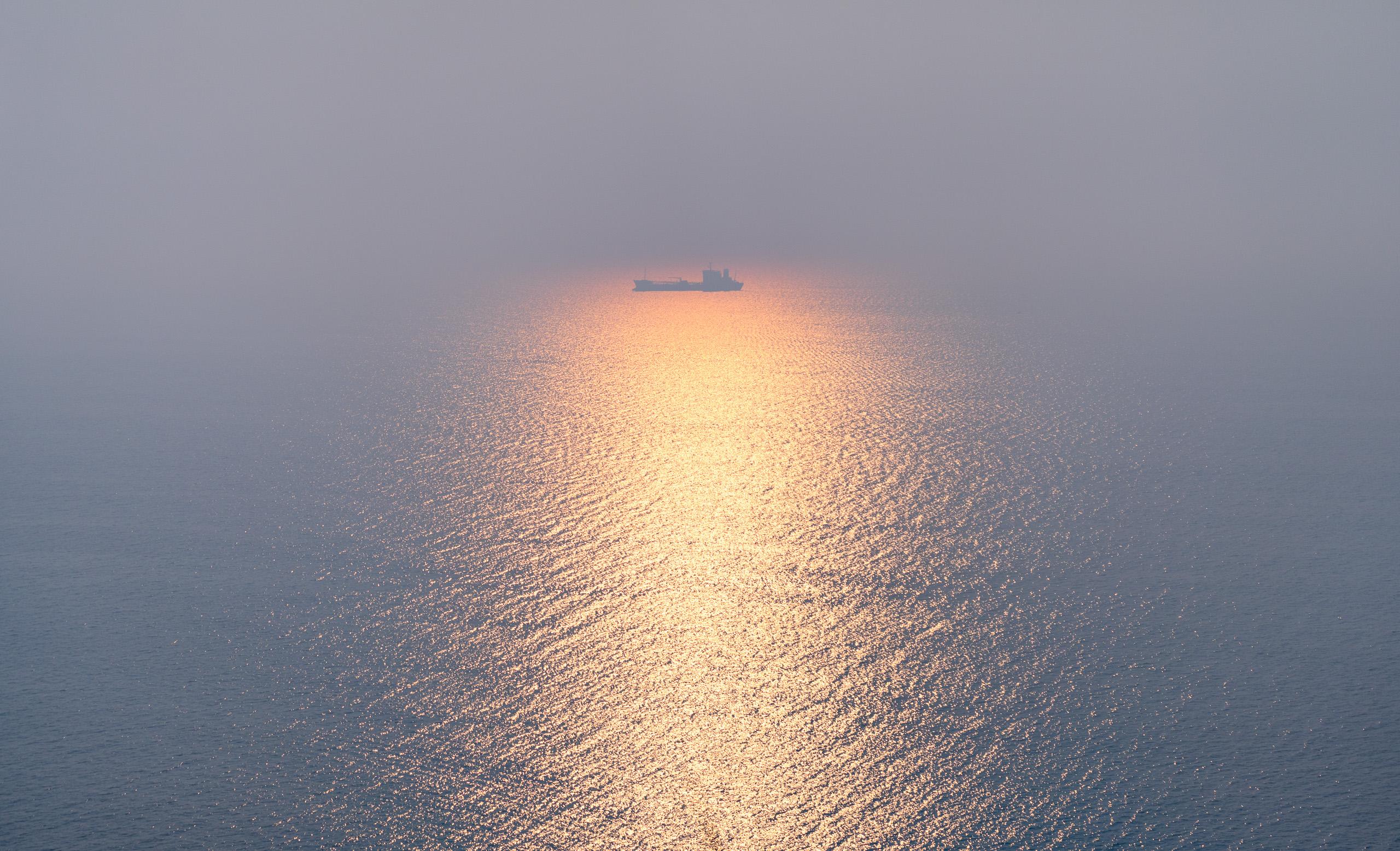 Рассвет на внешнем рейде