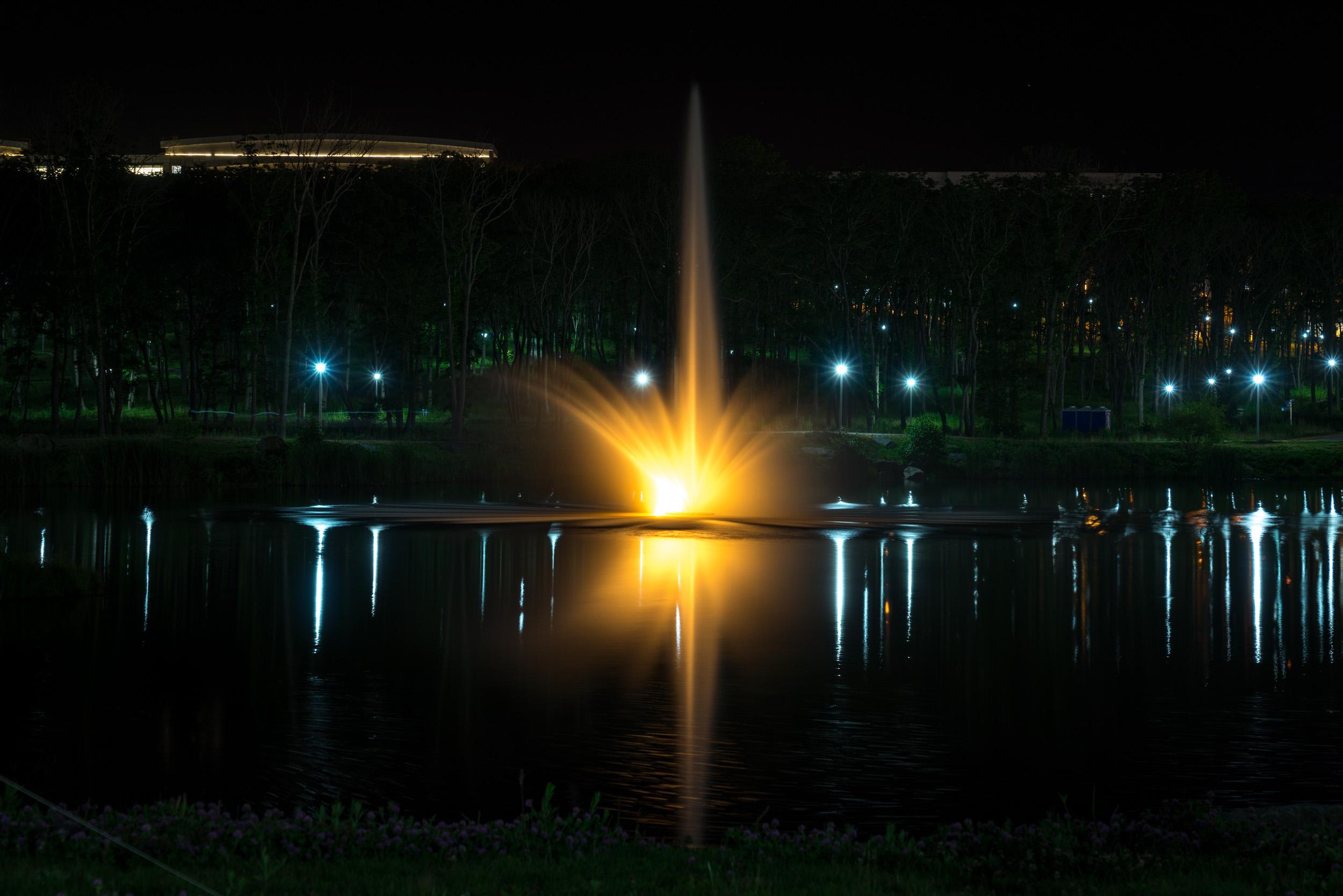 Островной фонтан