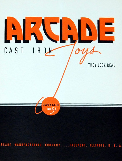 Arcade catalog number 51 reprint