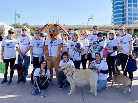 HFTP Arizona Chapter Walk to Save Animals Group Photo