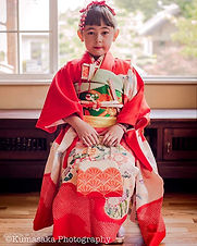"Photo session to celebrate ""Shichigosan"""
