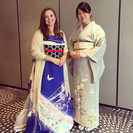 Portland Kimono Club members helped at t