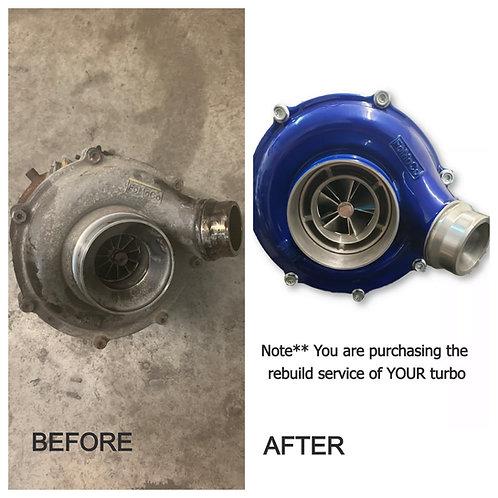 Turbo Rebuild SERVICE for 2015-18 Ford Powerstroke 6.7L
