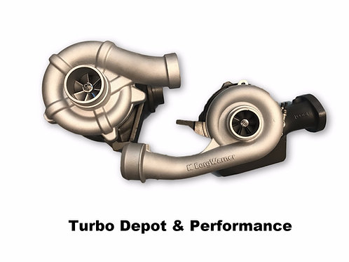 6.4L 08-10 Ford Powerstroke Borg-Warner Compound Remanufactured Turbos