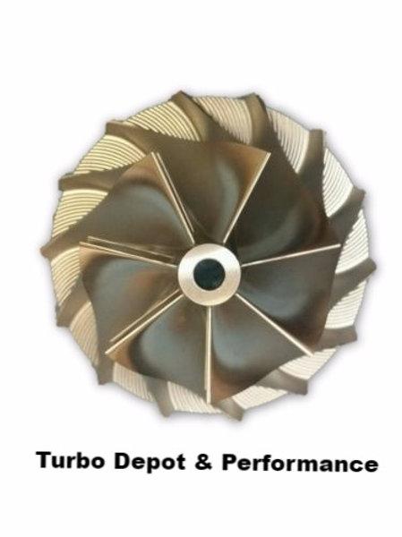 Dodge Cummins 07-12 6.7L Stock 5+5 Turbo Billet New Compressor Turbo Wheel