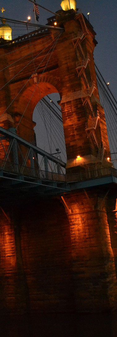 John A Roebling Suspension Bridge