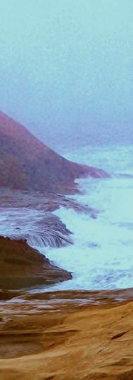 Tacked Rocks & Sea