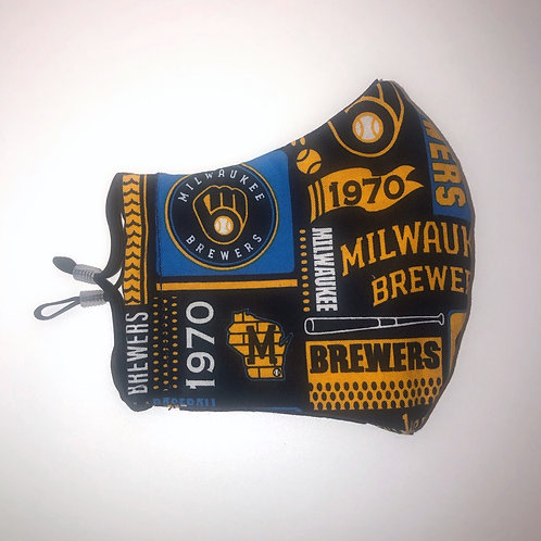 GO BREWERS! Mask