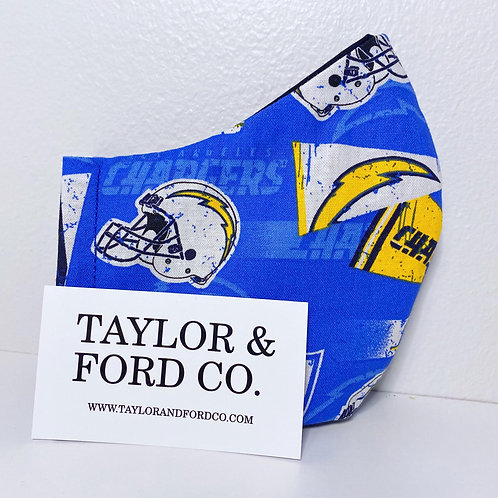 Los Angeles Chargers Mask