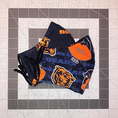 Chicago Bears Mask Bundle (2 Pack)