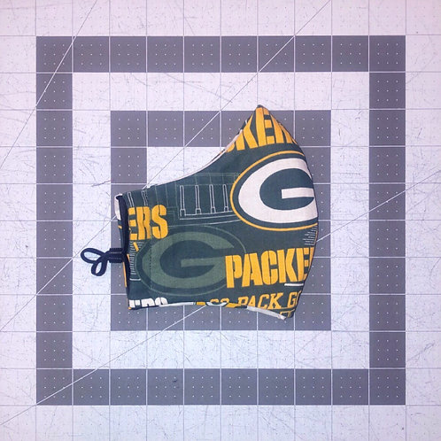 Go Pack Go! Face Mask